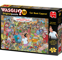 Jumbo Wasgij Original 35 Car Boot Capers 1000 piece Jigsaw Puzzle