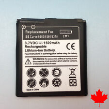 NEW BlackBerry Curve EM1 9350/9360/9770 Replacement Battery 1500mAh Canada