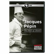 American Masters: Jacques Pépin - The Art of Craft (DVD, 2017)
