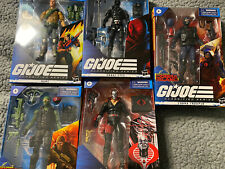 Lot Of 5 G I Joe Classified 6? Cobra Trooper Beachhead Destro Snake Eyes & Duke