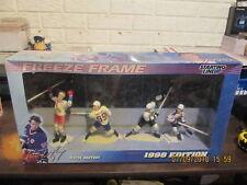 SLU Wayne Gretzky1998 Rangers Blues Kings & Oilers Uniforms Style#2 Freeze Frame