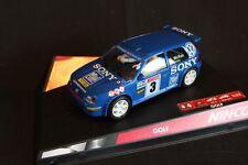 Ninco Volkswagen (VW) Golf lV Kit car 1999 1:32 #3 McRae / Senior test car