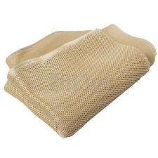 "55""x19.6"" Durable Loudspeaker Fabric Cloth Cover Beige CG"