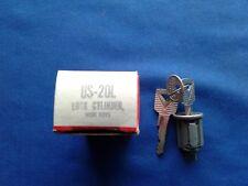 Ford Truck Bronco Standard Motor Lock Cylinder with Keys # US-20L 1963 - 1979