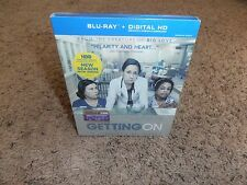 GETTING ON THE COMPLETE FIRST SEASON 1 ONE blu-ray BRAND NEW SEALED tv show