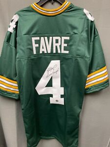 "Brett Favre ""SB XXXI Champs"" Signed Packers Jersey Autographed AUTO w/ COA Sz XL"