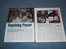 "1963-'82 Corvette Power Steering Pump Rebuild How-To Article ""Regaining Power"""