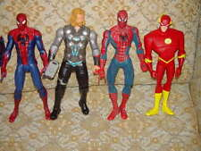 Marvel 2 Spider-Man, The Flash, Thor Set of 4 Action Figures