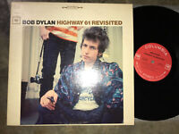 BOB DYLAN : HIGHWAY 61 REVISITED LP  COLUMBIA STEREO RED 2 EYE EX