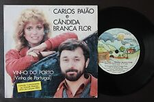 EUROVISION 1983 CARLOS PAIAO CANDIDA BRANCA FLOR SINGLE MADE IN PORTUGAL 45 PS 7