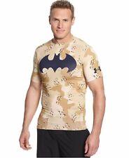 Men's Under Armour UA Alter Ego Camo Batman T-Shirt 2XL XXL Loose Cool Dry Light