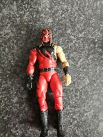 Wwe Elite Kane Wrestling Figure Attitude Era ultra rare 1sleeve