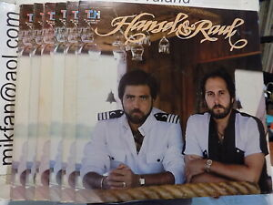 HANSEL Y RAUL self titled TH LP from 1983 Captain Jackect cover