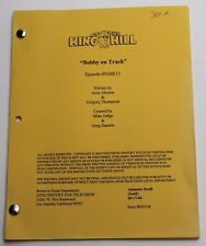 King of the Hill * 2004 Original TV Show Script * Season 9, Episode 14