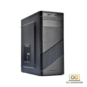 PC DESKTOP COMPUTER FISSO ASSEMBLATO INTEL QUAD CORE RAM 8GB SSD 240GB / WIN 10