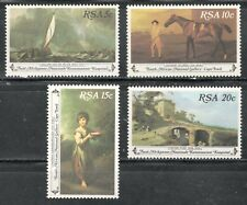 SOUTH AFRICA 1980 PAINTINGS COMPLETE MNH SET OF 4 Sc.#538-541 - Lot Z164
