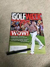 Keegan Bradley Golf Signed Autographed Magazine Pga Coa Masters