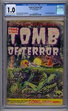 TOMB OF TERROR #16 CGC 1.0 LAST ISSUE IN TITLE GOLDEN AGE HORROR