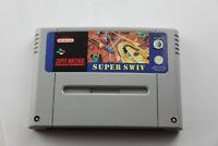 Jeu SUPER SWIV pour Super Nintendo SNES version PAL