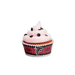 Atlanta Falcons Muffin Förmchen 50 stck. NFL Football Cupcake Cookie
