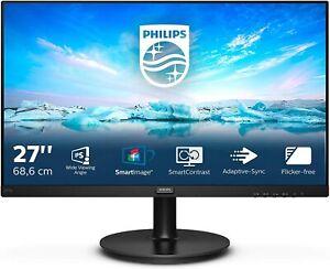 "Philips 272V8A Full HD 27"" LCD IPS, Speakers computer monitor HDMI/VGA/DP"