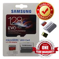 """Samsung 128GB EVO PLUS + MicroSD Scheda di Memoria SDHC con Adattatore UK Venditore"""" $@"""