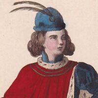 Jean De Valois Duc d'Alençon Lieutenant Général Siège d'Orléans Charles VII