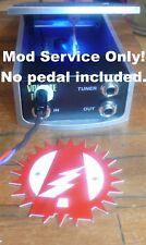 Mod Service: Ernie Ball VP Jr. Volume Pedal Alchemy Audio Active Buffer LED Mod