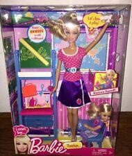Beautiful Barbie Teacher NIB 2012 With Accessories