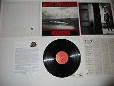 Bruce Springsteen Nebraska Analog Japan '82 1st EXC Press Ultrasonic CLEAN