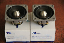 "1pr Tang Band W2-880SC 2"" mid-tweeter polymer cone shielded midrange full range"