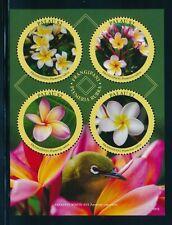 Palau Blumen Frangipani Block in ** Postfrisch