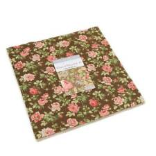 "Moda ROSES AND CHOCOLATE II Layer Cake 33270LC 42 10"" x 10"" Quilt Fabric Squares"