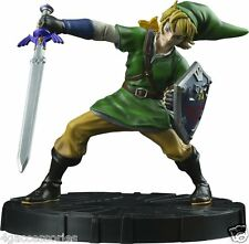 THE LEGEND OF ZELDA SKYWARD SWORD LINK FIRST 4 FIGURE COLLECTOR STATUE NEW!