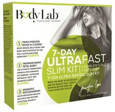 BodyLab 7 Day Ultra Fast Slim Kit - Fat Burn & Weight loss by Jennifer Lopez