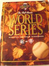 1993 World Series Program Book Toronto Blue Jays Philadelphia Phillies