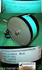 RINGKERNTRANSFORMATOR POLYTRONIK 125/116VA RINGKERNTRAFO TRANSFORMATOR RING CORE