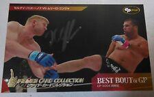 Sergei Kharitonov Signed 2006 Pride FC Grand Prix Card #69 RC UFC GP Autograph