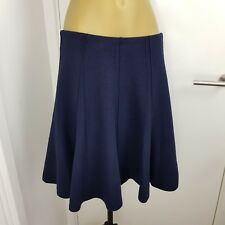 Authentic Marc Cain Skirt Midi Wool Navy Size N 2 UK 10,12