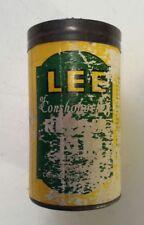 "*RARE (CONSHOHOCKEN, PA.) ""LEE OF CONSHOHOCKEN REPAIR KIT"" CARDBOARD TUBE- EMPTY"