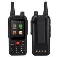 Walkie Talkie Sprech- Handfunkgeräte PTT UHF Radio Dual-SIM Zello Smartphone BT