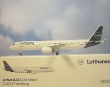 Herpa Wings 1:500 Airbus A321 Lufthansa D-AIRY Die Maus  533621 Modellairport500