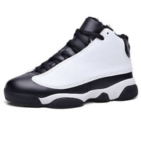 Kid's Boy's Girls Basketball Shoes Outdoor Sports Athletic Sneakers Cotton Boots