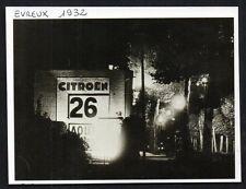 1999  --  EVREUX 1932  CONCESSION CITROEN CALENDRIER DE NUIT   3M424