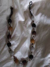 Beautiful Long necklace with round decorative small beads