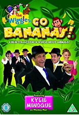 THE WIGGLES - GO BANANAS - CHILDRENS DVD - NEW UNSEALED - KYLIE MINOGUE