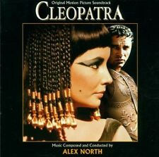 Cleopatra - 2 x CD Complete Score - Limited Edition - OOP - Alex North