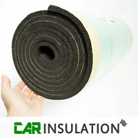 1m x 5m Roll 10mm Closed Cell Foam Sound Proofing Thermal Heat Noise Insulation