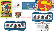 2013 CanadIan SUPERMAN Stamps & Postcards Lot Of 4 Collection - SALE 10%