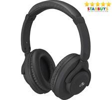 Goji GLITVBT18 Wireless Bluetooth Headphones Lightweight & Comfortable - Black